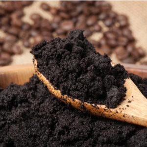 used coffee grounds for ant control